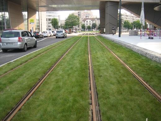 トラムの線路