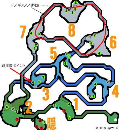 雪山マップ解説