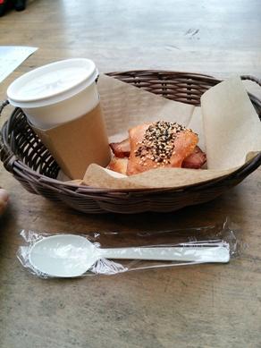 at 山のパン屋