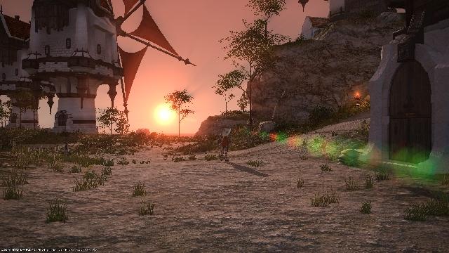 旅路の夕日 (640x360)