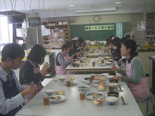 満足一人ご飯の講座の写真