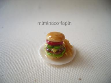 ミニチュア ハンバーガー