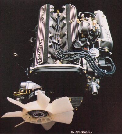 81年7月 セリカXX 5M