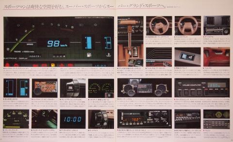81年7月 セリカXX 装備