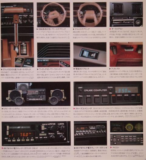 81年7月 セリカXX 快適装備