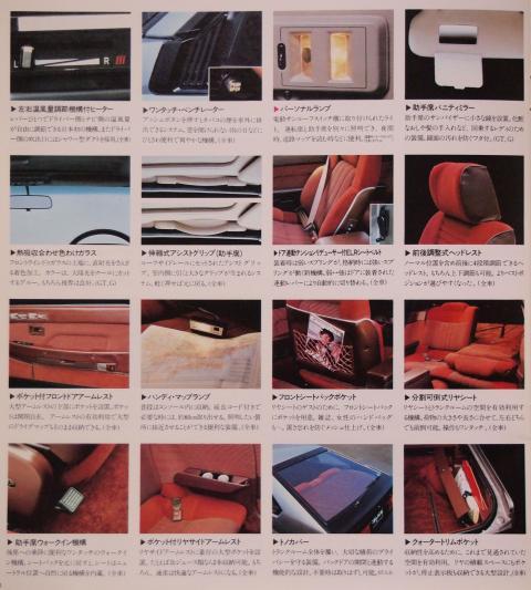 81年7月 セリカXX 室内装備