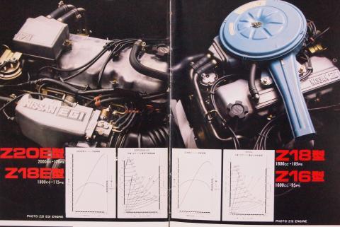 79年12月 ブルーバード エンジン