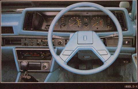 80年1月 シルビアLS-X インパネ