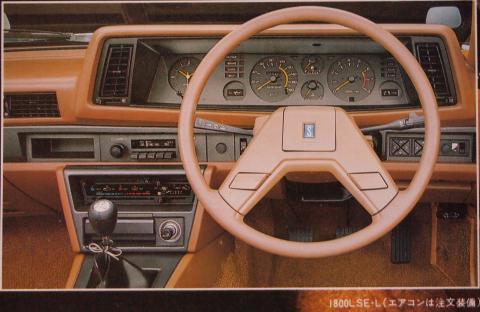 80年1月 シルビアLSE-L インパネ