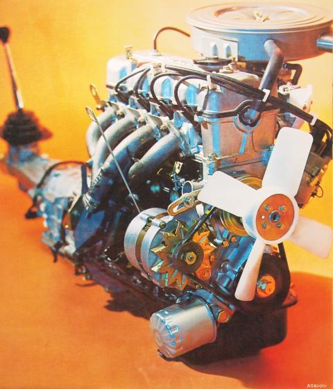 70年 ギャラン 4G31エンジン