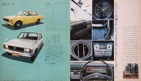 70年 ギャラン AⅠシリーズ