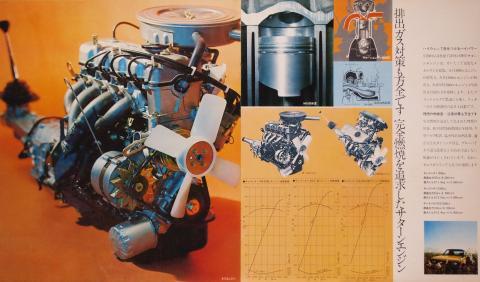 70年 ギャラン サターンエンジン