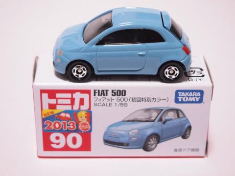 トミカ フィアット500
