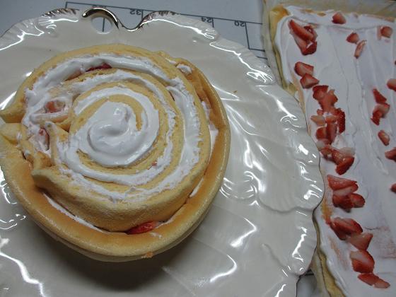 渦巻きケーキ
