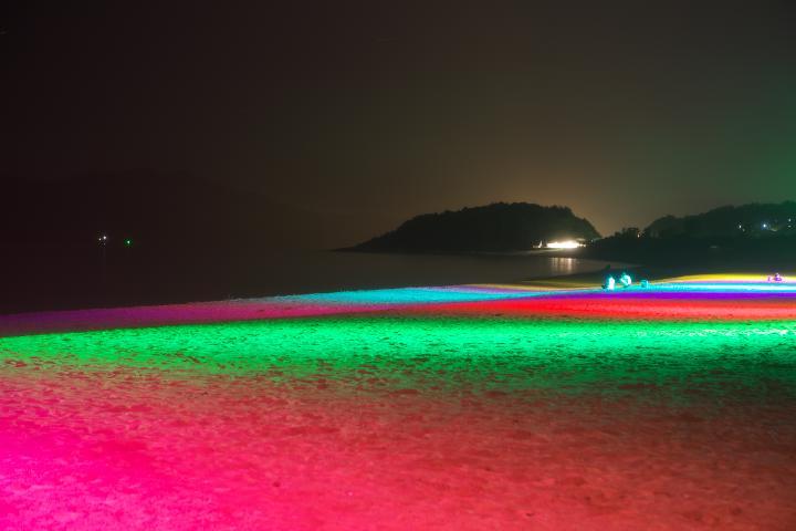 渚のライトアップ01