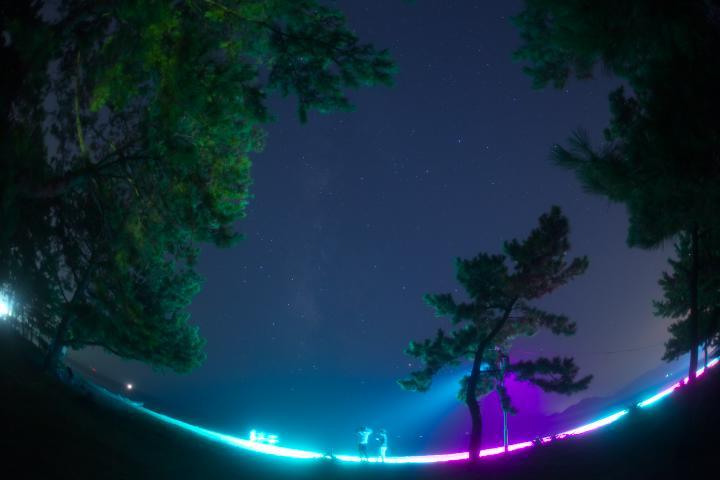 渚のライトアップ02