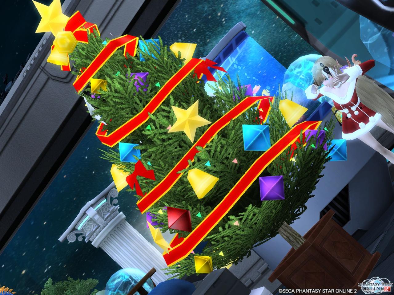 エメルームのクリスマスツリー