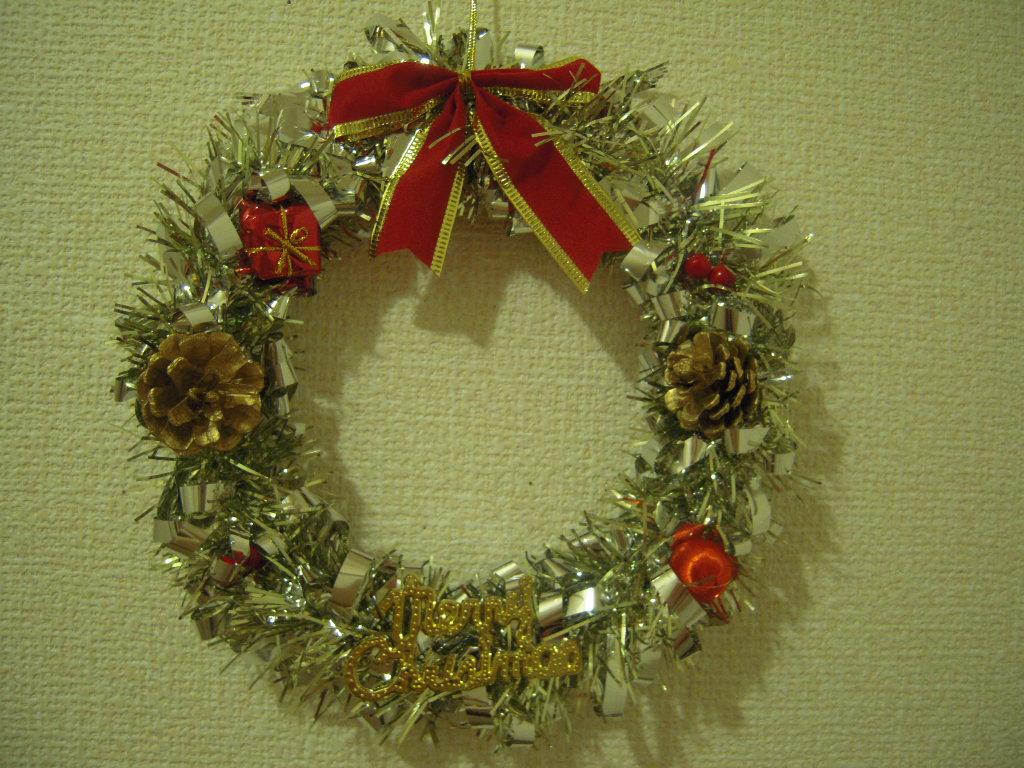 セリア☆ クリスマスリース☆1