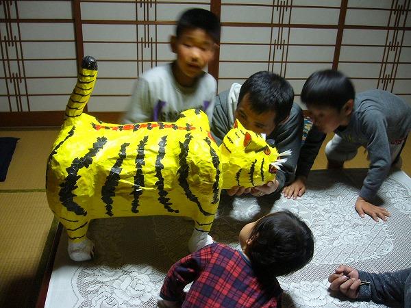 これは、凄い虎だね!