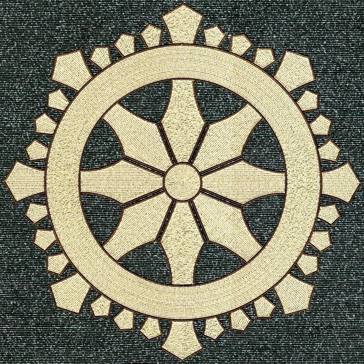 三宅輪宝紋