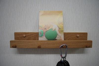 タモ カード飾り棚
