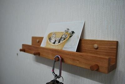 壁掛け棚 木製