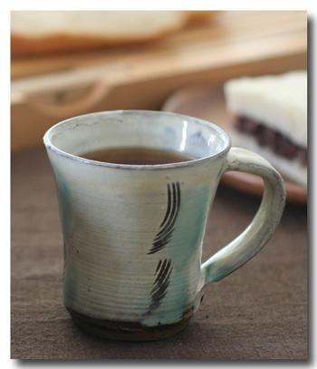 小鹿田焼 マグカップ