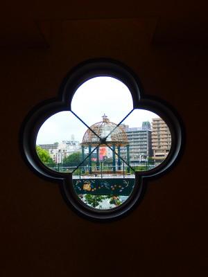 宝塚花のみちセルカ2階より。