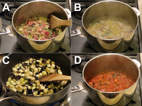 サバとナスのトマトソースの作り方
