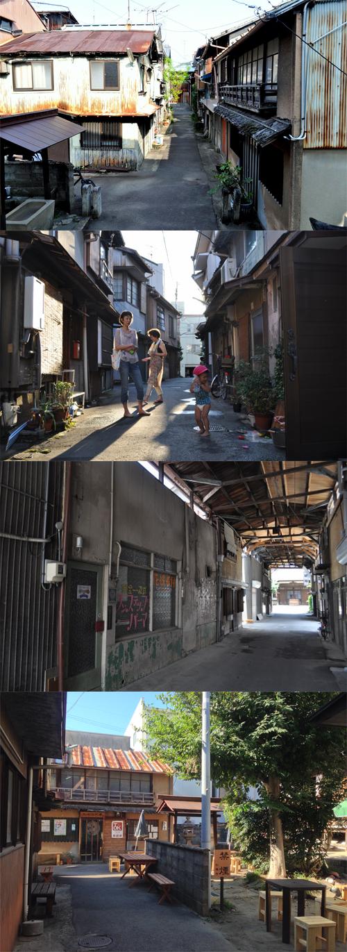 松本町の路地