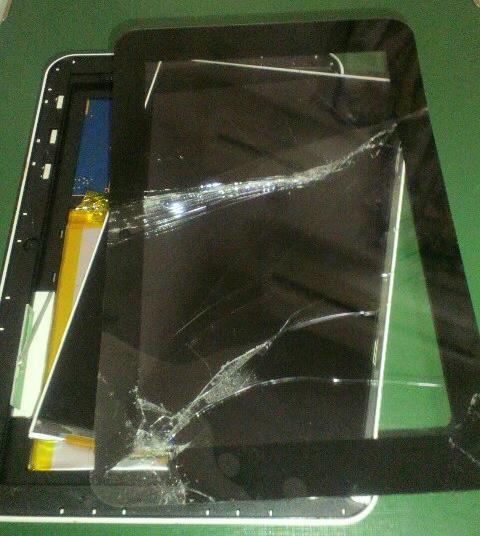 タブレットの殻割失敗