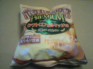 湖池屋(コイケヤ)「ポテトチップス プレミアムクワトロフォルマッジ味 4種のチーズピッツァ」