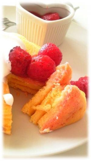 いちごのメレンゲパンケーキ2