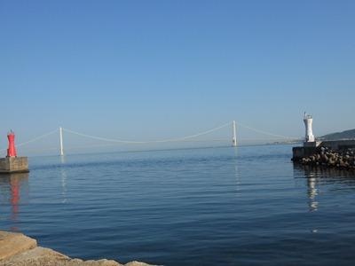 明石浦からの大橋