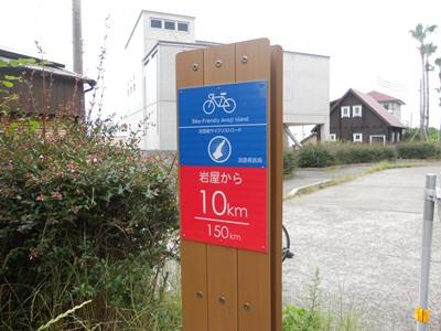 自転車用案内板
