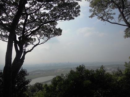 雌岡山からの景色