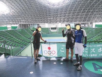 防災公園テニスコート