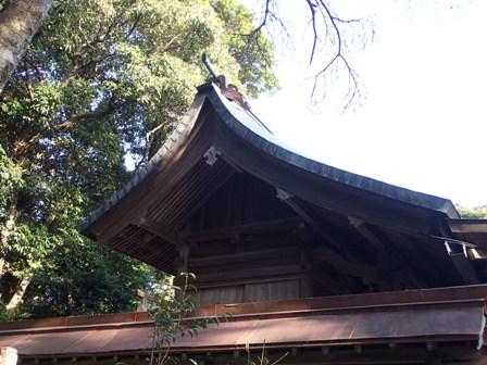 銅葺き屋根