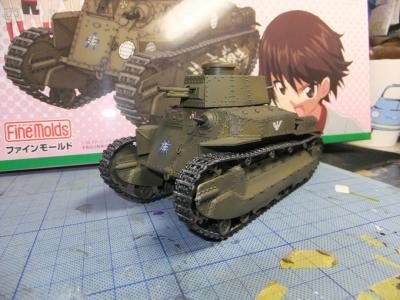 中戦車だしぃ~~