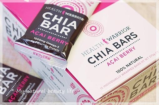 Health Warrior, Inc., Chia Bars, Acai Berry,