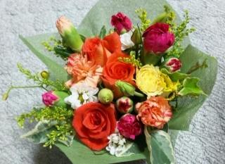 合格お祝いの花