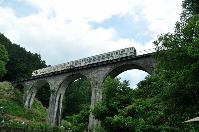 日田彦山線アーチ橋 (6)