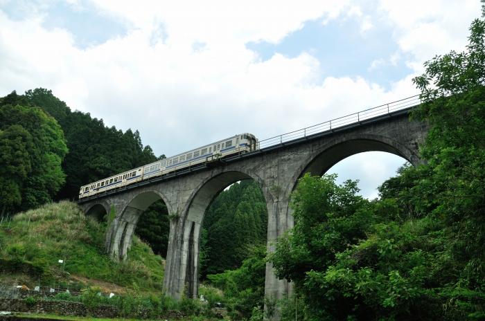 日田彦山線アーチ橋 (5)
