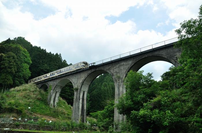 日田彦山線アーチ橋 (4)