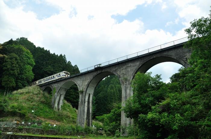 日田彦山線アーチ橋 (3)