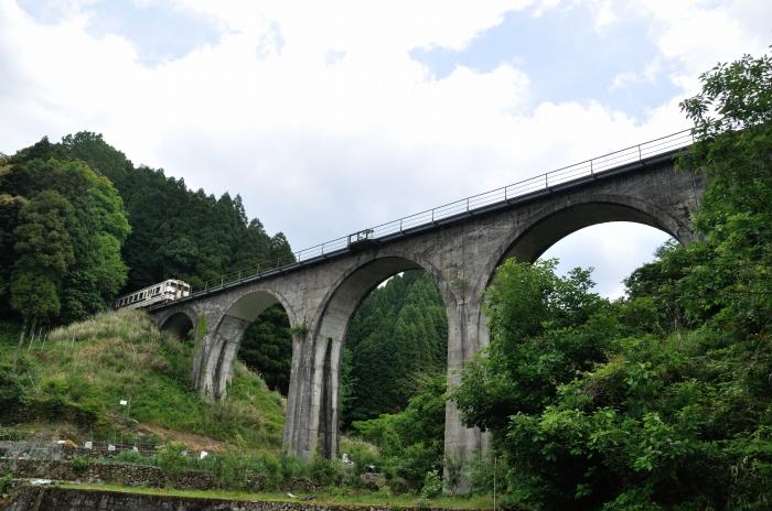 日田彦山線アーチ橋 (2)