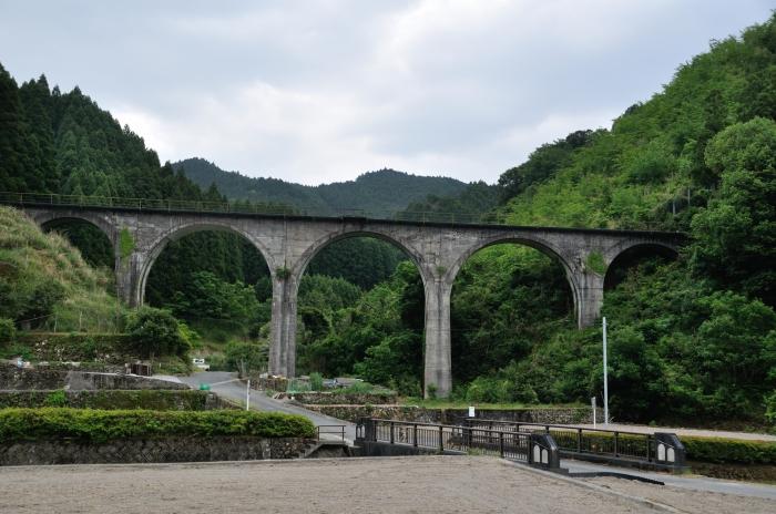 日田彦山線アーチ橋 (1)