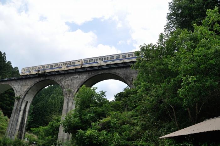 日田彦山線アーチ橋 (7)
