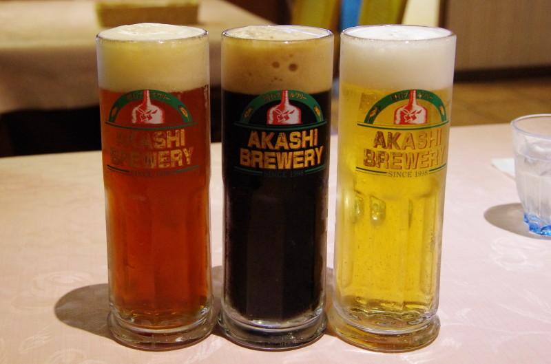 明石ビール 3種