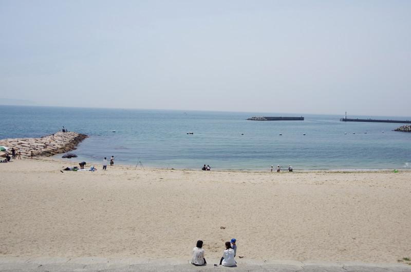 明石ビール 江井島の浜